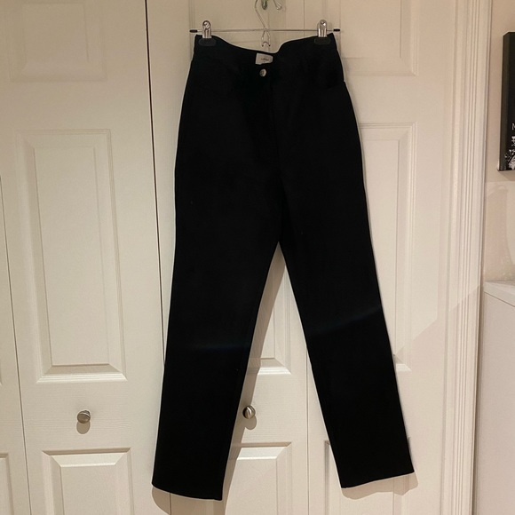 Aritzia Wilfred Suede Melina Pant